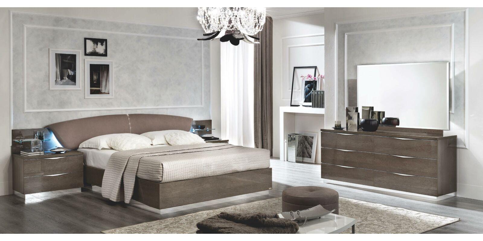 Platinum hálószoba garnitúra 4-ajtós szekrénnyel, 160x200-as ...