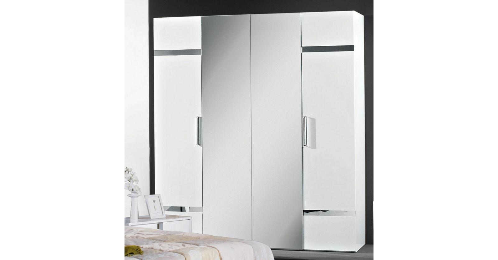 e9995dffdf9 H2 San Marino 2 tolóajtós szekrény fehér
