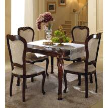AC Donatello Day négyzetalakú étkezőasztal 1 kihúzható elemmel (+40 cm hosszabbítható)