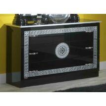BC Serena Komód - fekete-ezüst