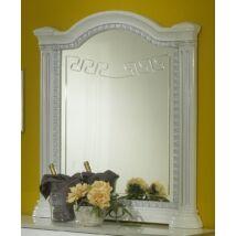 BC Serena díszes tükör - fehér-ezüst
