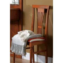 Nostalgia szék íróasztalhoz, riga giglio rosso szövettel (dió)