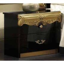 Barocco Éjjeliszekrény - fekete-arany