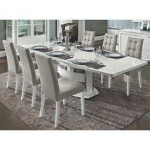 Dama Bianca Day Étkezőasztal 160x103 cm (+45 cm hosszabbítható)
