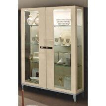 Ambra Day 2-ajtós vitrines szekrény üveg oldalakkal