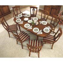 Nostalgia Day Ovális étkezőasztal (+2x45 cm hosszabbítható)
