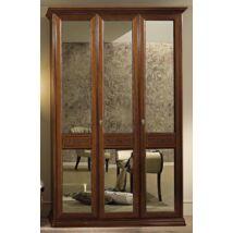 Torriani 3-ajtós szekrény dió színben