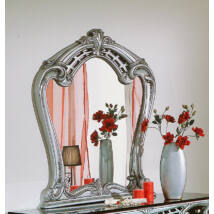 Díszes tükör - ezüst
