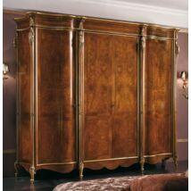 4-ajtós ruhásszekrény - kőris