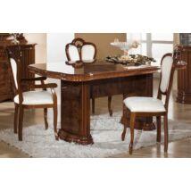 H2 Elizabeth Day Étkezőasztal 185x105 cm (+45 cm hosszabbítható) - dió
