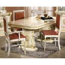 H2 Rossella Day Étkezőasztal 185x105 cm (+45 cm hosszabbítható) - bézs