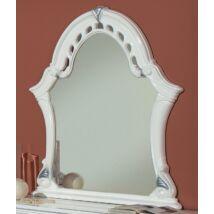 Tükör - fehér-ezüst