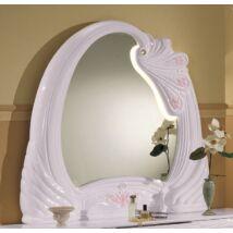 H2 Vanity Széles tükör - fehér
