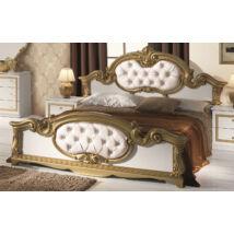 Barocco ágykeret 180 - fehér-arany