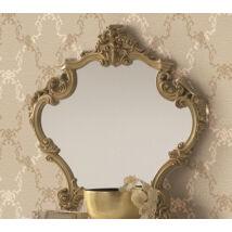 Barocco tükör - fehér-arany