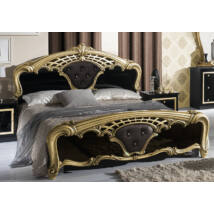 Eva ágykeret 160 - fekete-arany