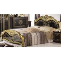 Laura ágykeret 160 - fekete-arany