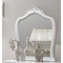 Luisa tükör - fehér-ezüst