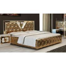 Lux ágykeret 160 - fehér-arany