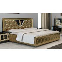 Lux ágykeret 160 - fekete-arany