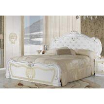 Vilma ágykeret 160 - fehér-arany