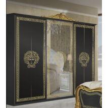 Vilma szekrény 6a - fekete-arany