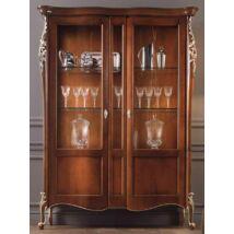 Venere 2-ajtós vitrines szekrény