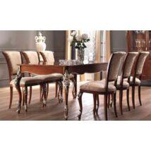 Étkezőasztal 201x101 cm (+2x39 cm hosszabbítható)