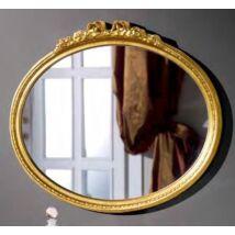 Díszes ovális tükör