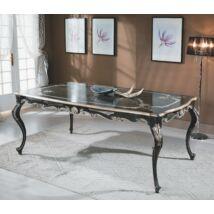 Morino Fekete kecses dohányzóasztal