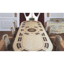 Morino Ovális tömörfa asztal