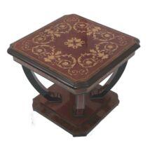Morino Intarziás négyzetes kisasztal