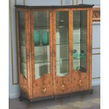 Morino 3-ajtós intarziás vitrin