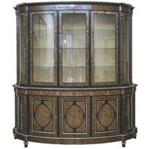 Morino Intarziás, félkör alakú szekrény