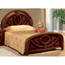 Egyszemélyes ágykeret - dió