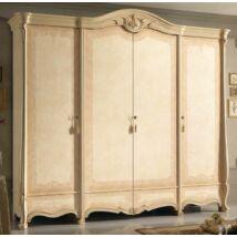 Sovrana 4-ajtós szekrény - bézs, magasság: 238,3 cm