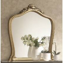 TM Alice Díszes tükör - fekete-arany