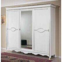 Arena 3 tolóajtós ruhásszekrény, 1 tükrös ajtóval