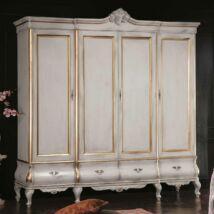Tulipano 4-ajtós ruhásszekrény 4 fiókkal