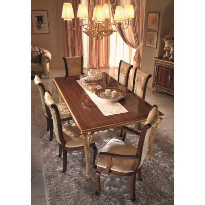 AC Giotto Day olasz klasszikus étkező garnitúra, dió színben