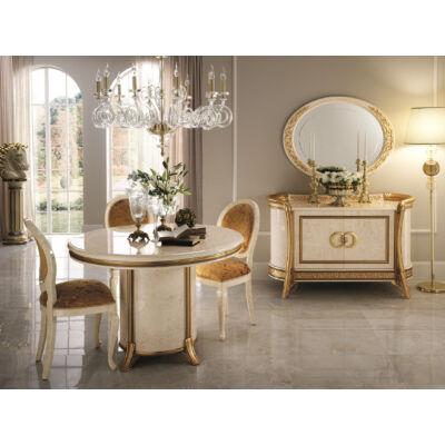AC Melodia Day olasz klasszikus étkező garnitúra, elefántcsontszín-arany színben