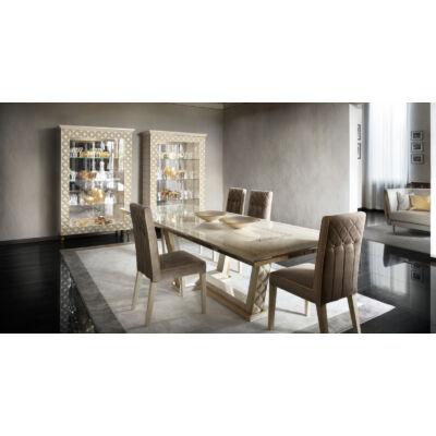 AC Sipario Day olasz klasszikus étkezőgarnitúra, arany színben