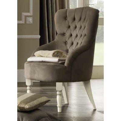 Nostalgia fotel (antik fehér) - Rusztikus hálószoba elemek ...