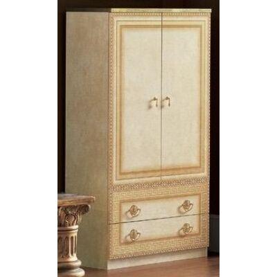 2-ajtós szekrény 2 fiókkal - bézs