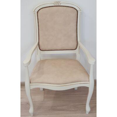 Karosszék - antik fehér