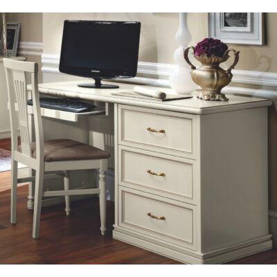 Íróasztal - antik fehér
