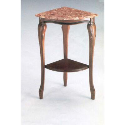 Sarok asztalka márványlappal - bézs vagy rózsaszín