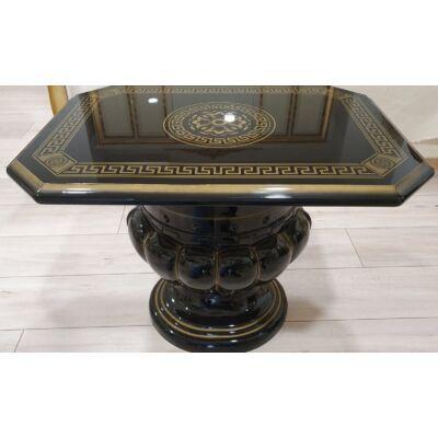 Lámpaasztal - fekete-arany