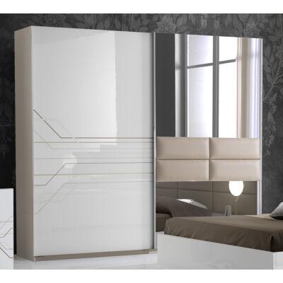 Tijana ruhásszekrény 2 tolóajtós 220 cm