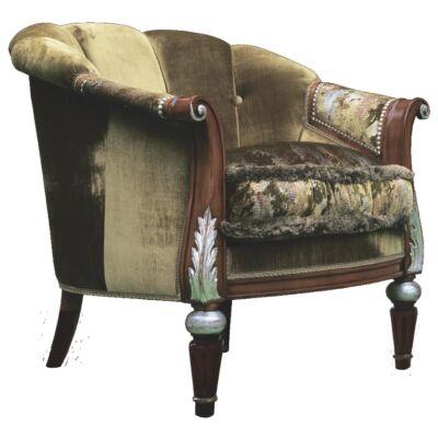 Intarziás fotel